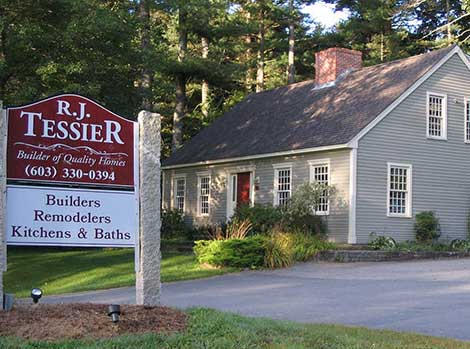 New home construction r j tessier home building and for New home construction nh